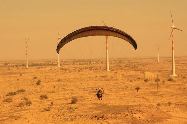 6 paragliding jaisalmer